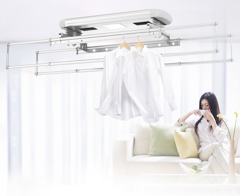 Automatic Ceiling Clothes Drying Rack
