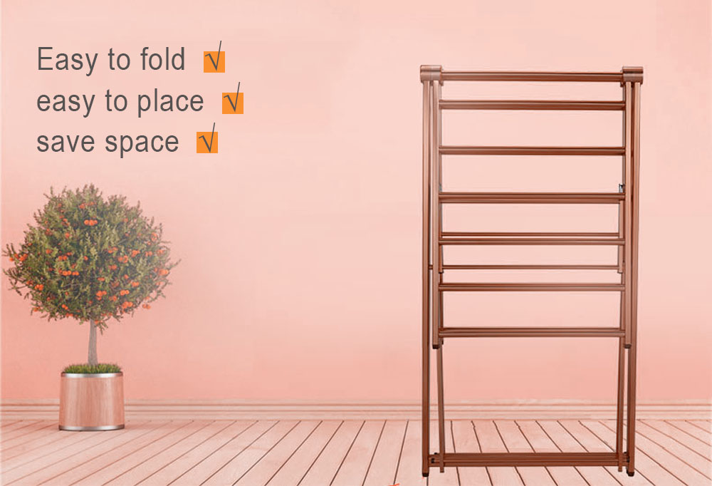 folding clothes rack drying